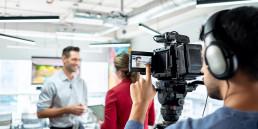 videokuvaus haastattelusta